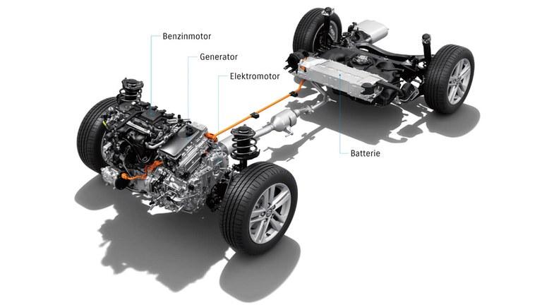 Vollhybrid-System des Suzuki Swace