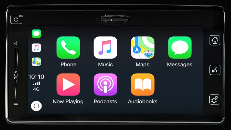 Apple CarPlay im Suzuki Swift Sport Hybrid.