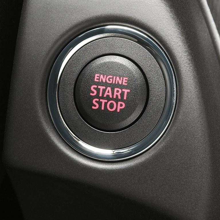 Keyless Start im Suzuki Vitara Hybrid.