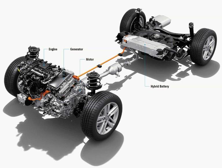 Grafik Suzuki Vollhybrid Technologie