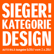 Der neue Suzuki Ignis gewinnt Designpreis der AUTO BILD