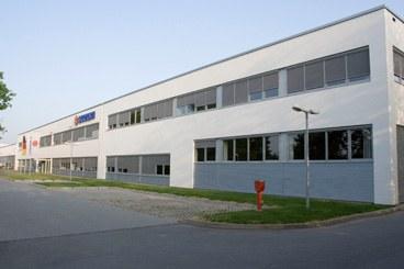 Fabrikhalle von Suzuki in Bensheim.